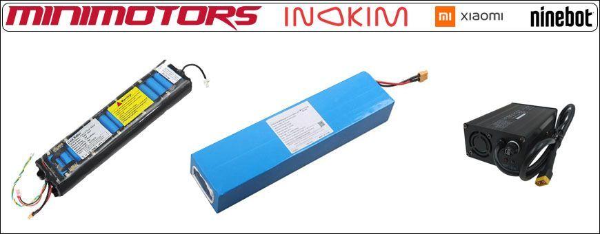 Batteries & Chargeurs Trottinettes Électriques • TROTTIMAG